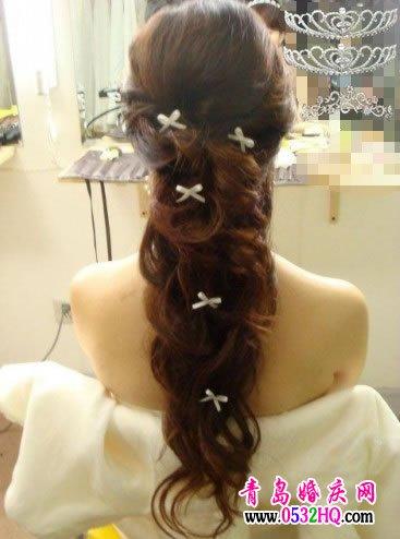 推荐几款最受欢迎的新娘发型