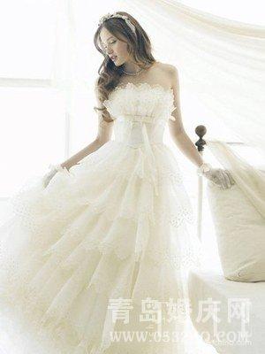 体型丰满新娘如何穿婚纱显瘦好看