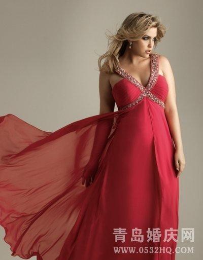 胖新娘挑选婚纱礼服的几个标准