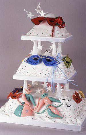 最浪漫甜蜜的婚礼蛋糕