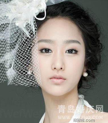 精致新娘 做婚礼当天高贵的白天鹅