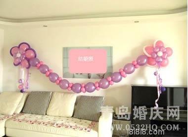 如何用气球布置婚房 婚房气球布置效果图