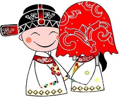 祝福新人结婚的话 结婚祝福成语短句