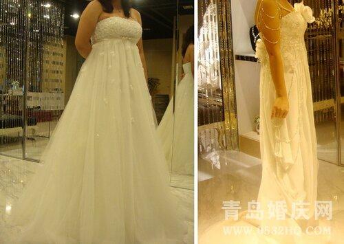怀孕新娘挑选婚纱需要注意的问题