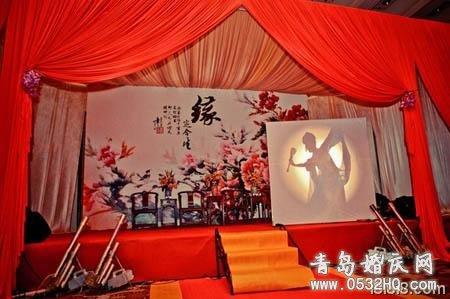 独具中国古典韵致的中式婚礼布置