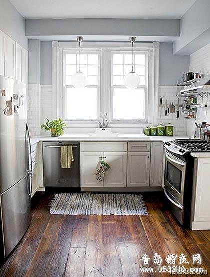 五款风格不同的小厨房装修效果图