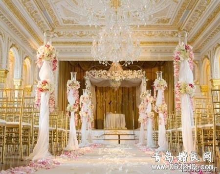 8款最新室内外婚礼现场布置图片