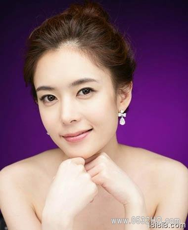圆脸新娘发型图片 圆脸适合什么发型?