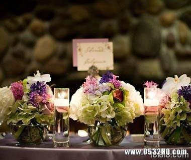极致浪漫 与众不同的婚宴餐桌布置