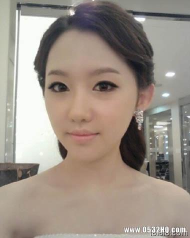 韩国2012最新新娘造型 清新脱俗