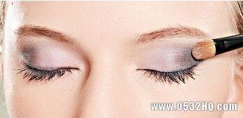 高贵迷人的紫色小烟熏妆画法教程