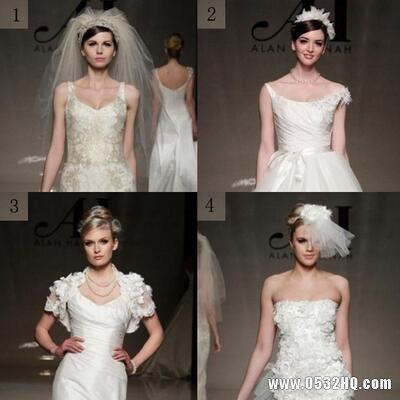 分析新娘脸型与婚纱领口的关系