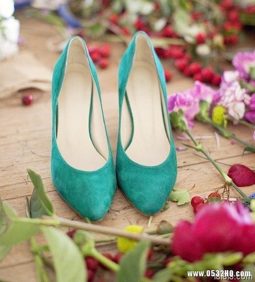 新娘婚鞋搭配有秘诀 适合自己很重要
