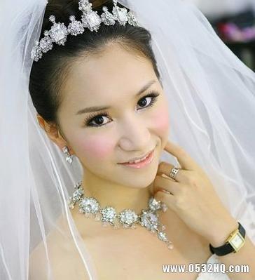 精致甜美 4款日系新娘妆造型推荐