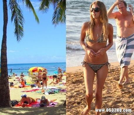 夏威夷天体海滩 充满惊喜的度假圣地