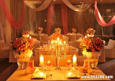 若影若现的浪漫 烛光婚礼的注意事项