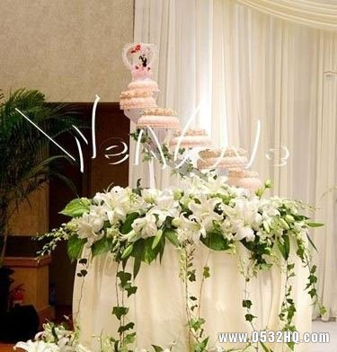 半鲜花婚礼套系中的鲜花用在哪里