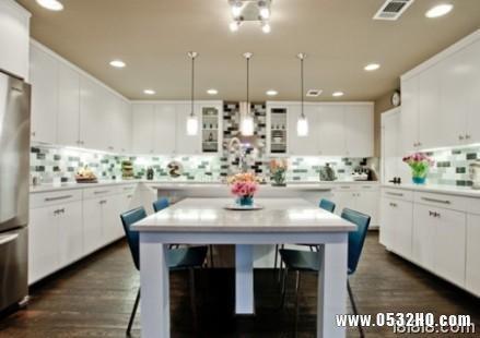 奢华典雅来袭 厨房装修效果图片欣赏