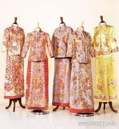解密中式龙凤裙褂敬茶礼服的秘密