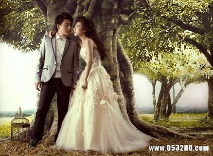 性格内向的新娘如何拍好婚纱照
