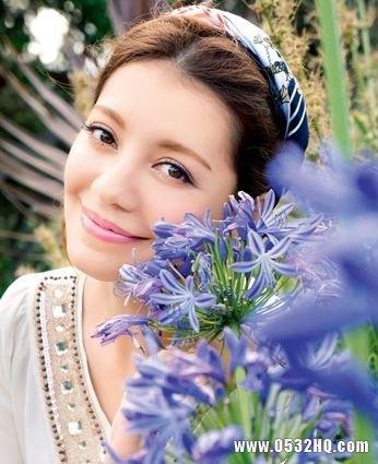 森女系新娘妆容 如花仙子般唯美耀眼