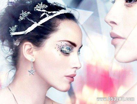 打造新娘水钻眼妆的几点注意事项
