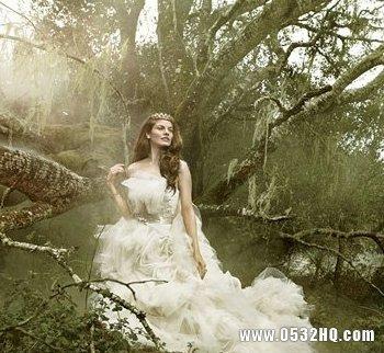 唯美梦幻童话婚纱 圆你的公主梦