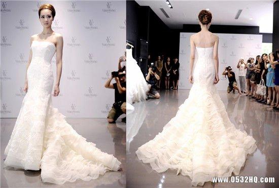 Vera Wang 2013秋冬新款婚纱 尽显新娘典雅韵味