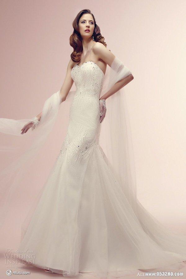 Alessandra Rinaudo时尚婚纱礼服