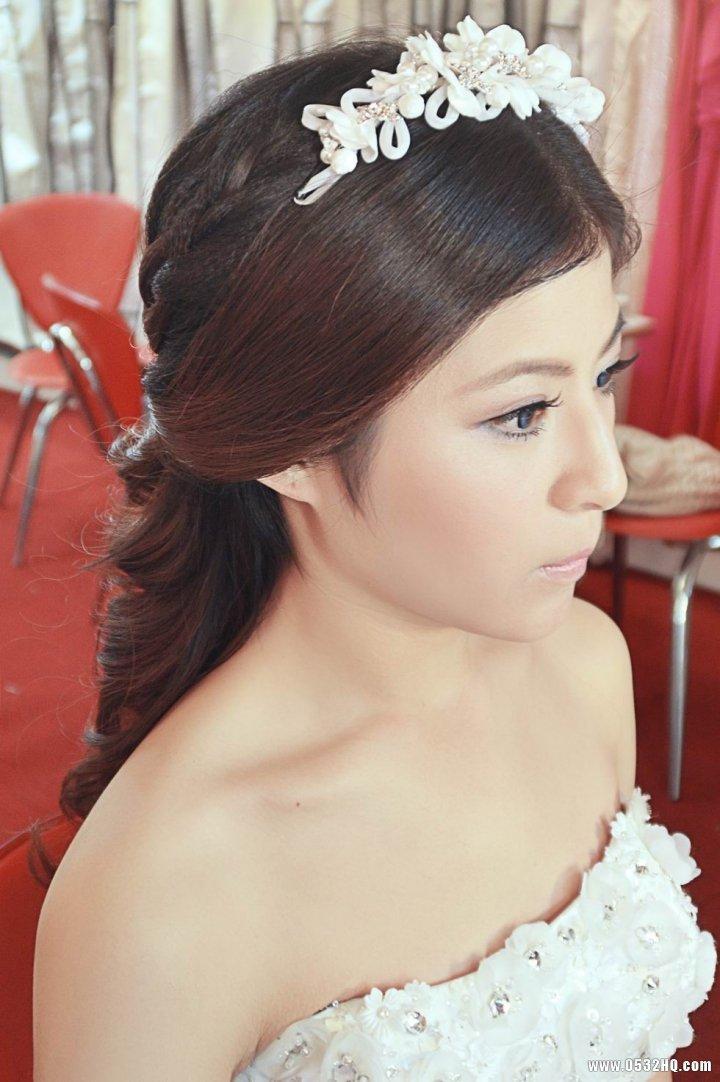 经典复古韩式新娘化妆造型欣赏