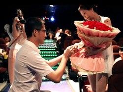 感动浪漫的青岛求婚微电影