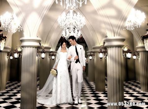 轻欧简约风格婚纱照怎么拍 注意什么?