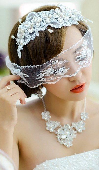 最美百搭新娘头饰欣赏