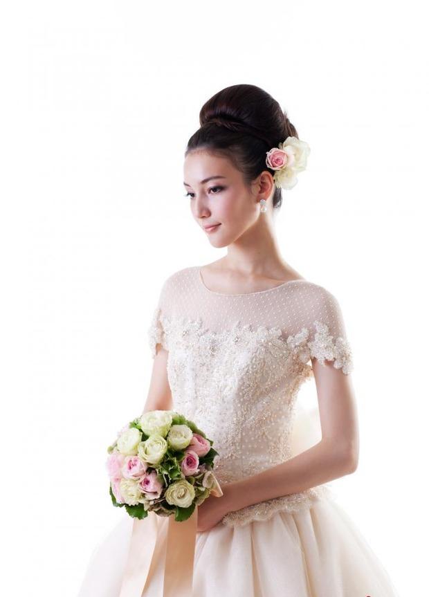 多种新娘发型设计参考