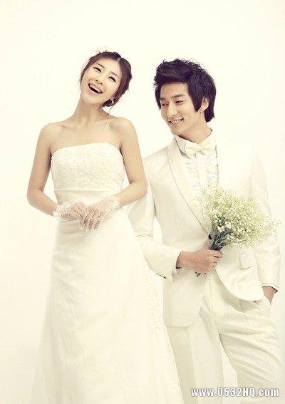 高个子的新娘如何拍好婚纱照?