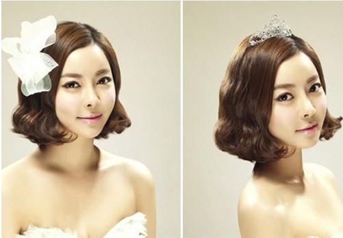 韩式新娘发型图片 让你婚礼上光芒闪耀