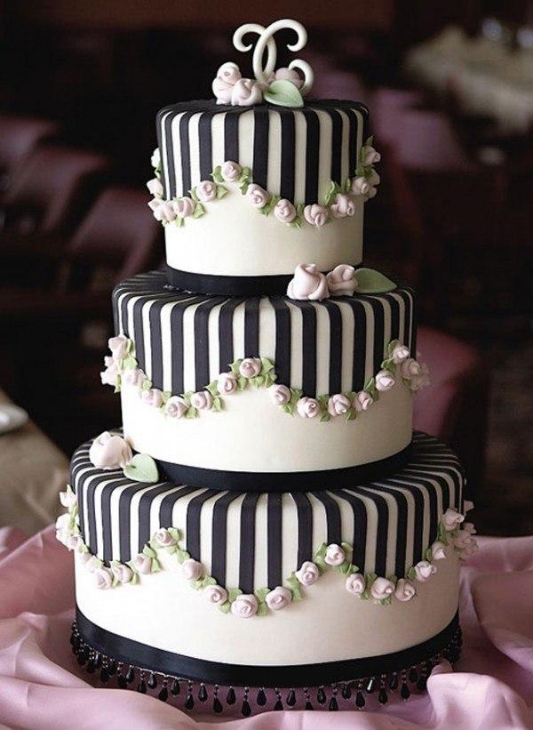 可爱浪漫婚礼蛋糕推荐