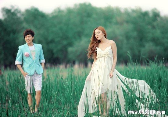 女高男矮怎么拍婚纱照好看