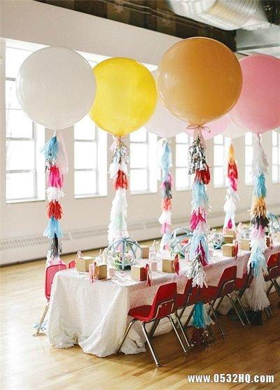 缤纷气球婚礼 点缀婚礼独特的浪漫