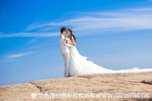 婚纱照显瘦姿势 让你做自信新娘