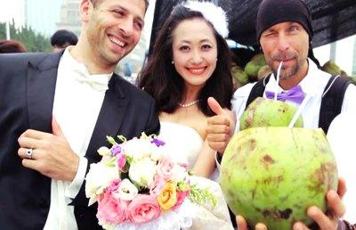 老外娶青岛大��婚礼视频