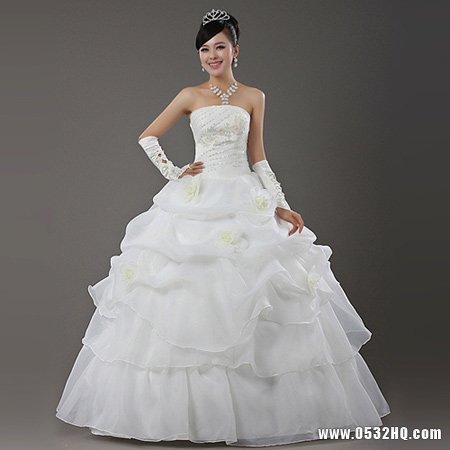 肩膀宽新娘怎么挑选婚纱?四点技巧