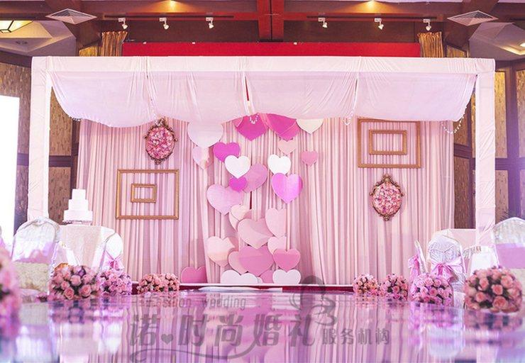 诺时尚婚庆唯美粉色主题婚礼