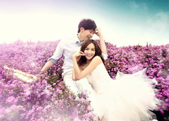 皮肤黑新娘怎么拍婚纱照最漂亮