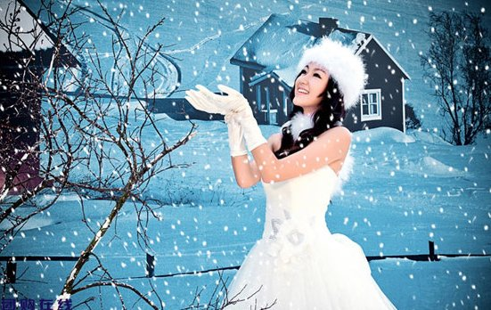 冬季拍婚纱照要注意些什么?