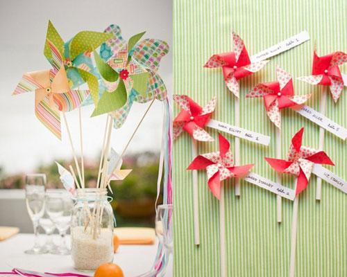 如何举办一场可爱风车主题婚礼