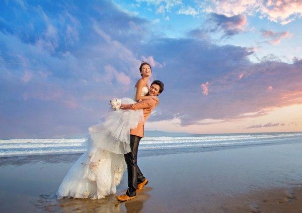 青岛婚纱摄影可以只拍外景吗?