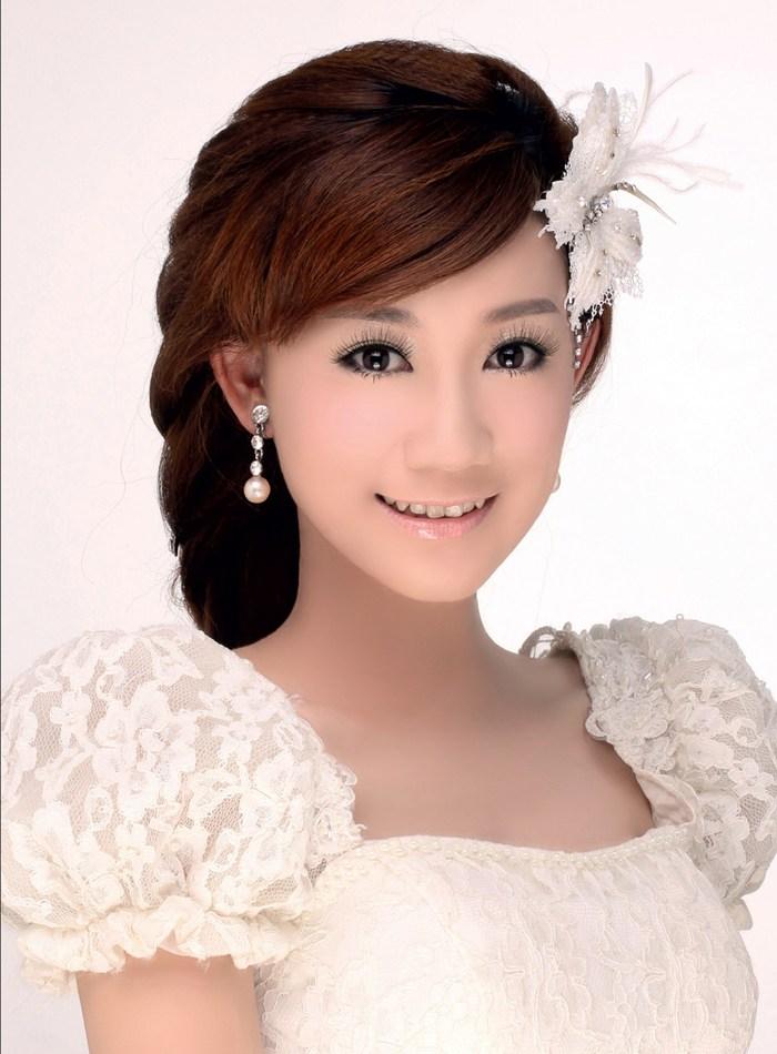 经典韩式新娘造型 美到让人窒息
