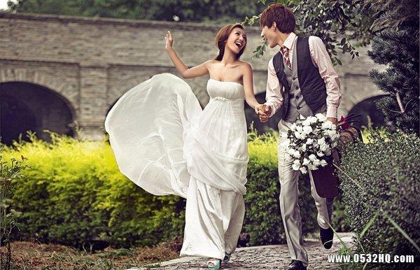 单眼皮新娘拍出大眼婚纱照的方法