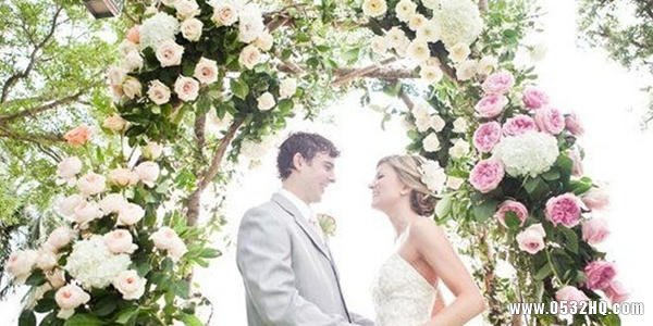 西式婚礼花门选择的六个技巧